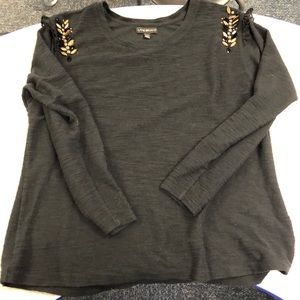 Super cute Lane Bryant longsleeve top 14/16